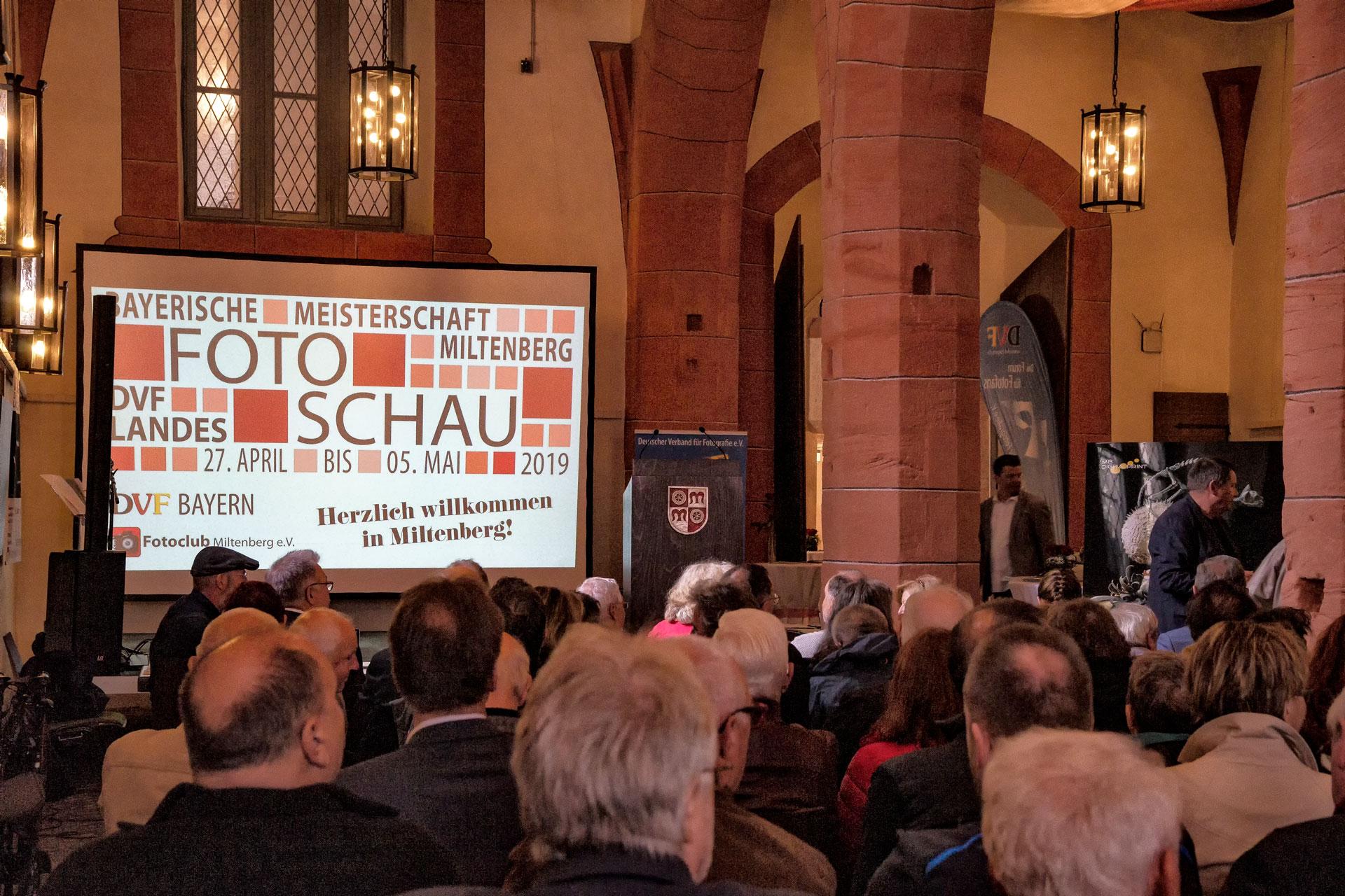 Preisverleihung Bayerische Fotomeisterschaft